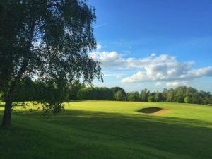 1th green colmworth golf club
