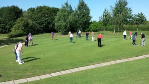 lessons on the putting green
